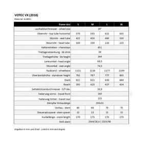 "VOTEC VX Comp - Trail Fully 29"" - dark grey glossy/black matte"